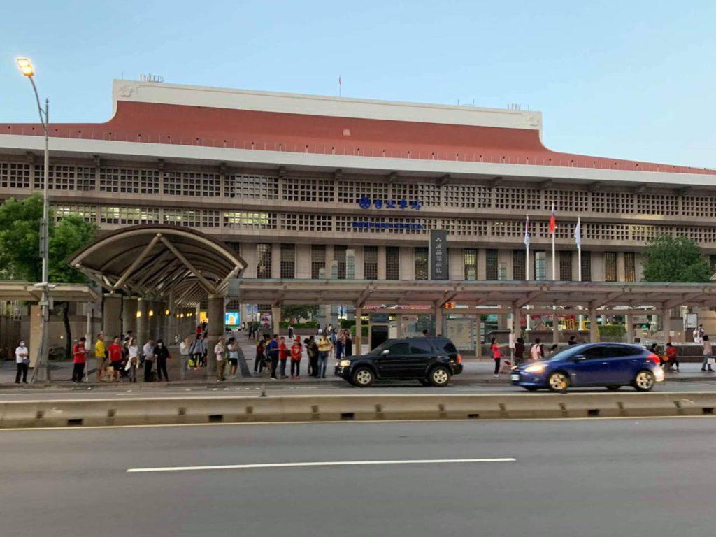 画像: 台北市のほぼ中心にある台北駅