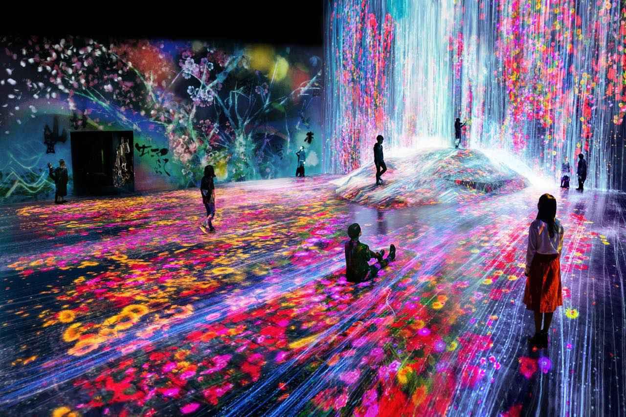 画像3: 【お台場】境界のないアートによる、地図のないミュージアム「チームラボボーダレス」お台場