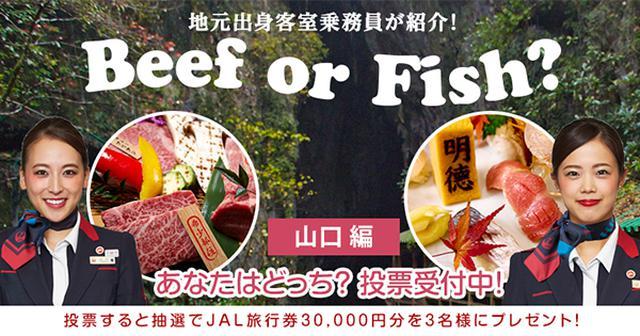 画像: 地元出身客室乗務員が紹介!Beef or Fish? Vol.12 山口編