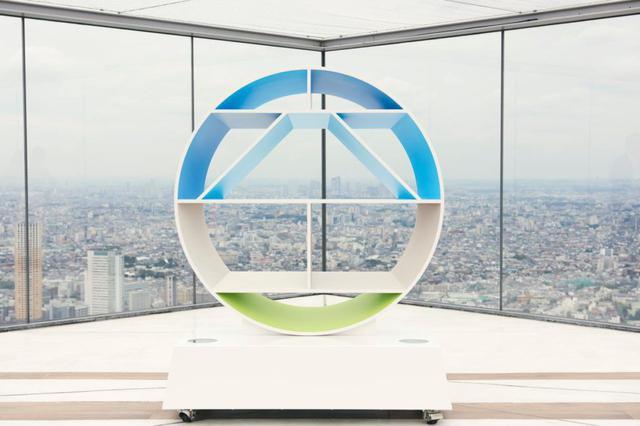 画像: 漢字の「空」をモチーフにした「SHIBUYA SKY」のロゴデザイン
