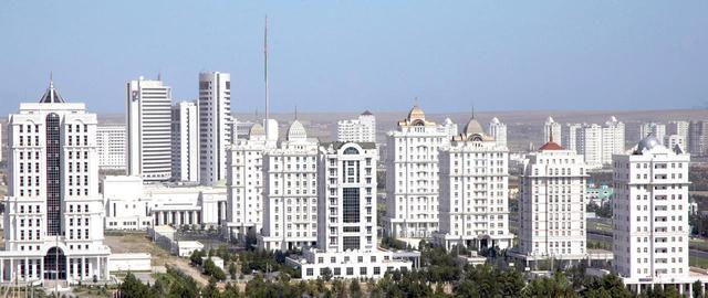 画像: 【首都アシガバート】ギネスも認定済みの大理石でできた街