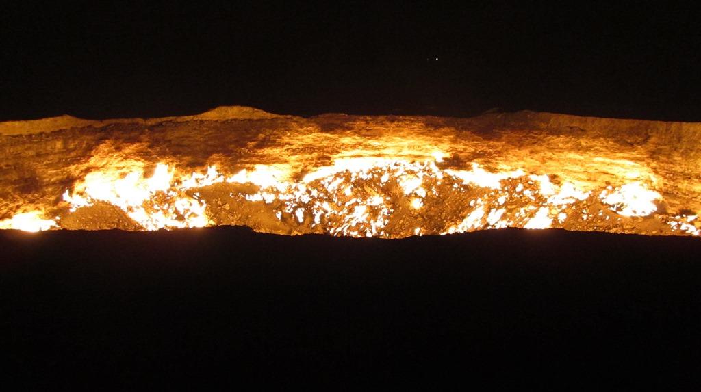 画像: 【地獄の門】45年以上燃え続けている神秘の絶景