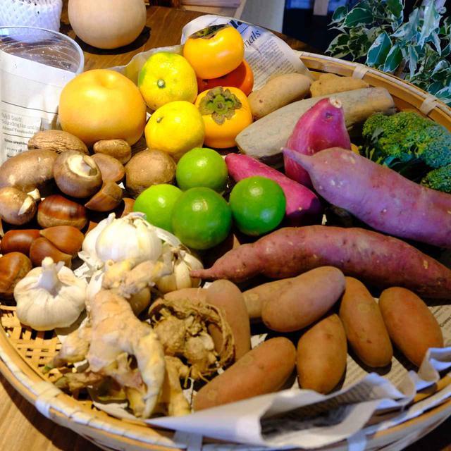 画像: ピッツァ、一品料理、デザート、ドリンクなどは旬の地元野菜や果物から作られます。