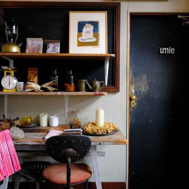 画像: 同じく北浜alley内の人気カフェ「umie」も同系列です。