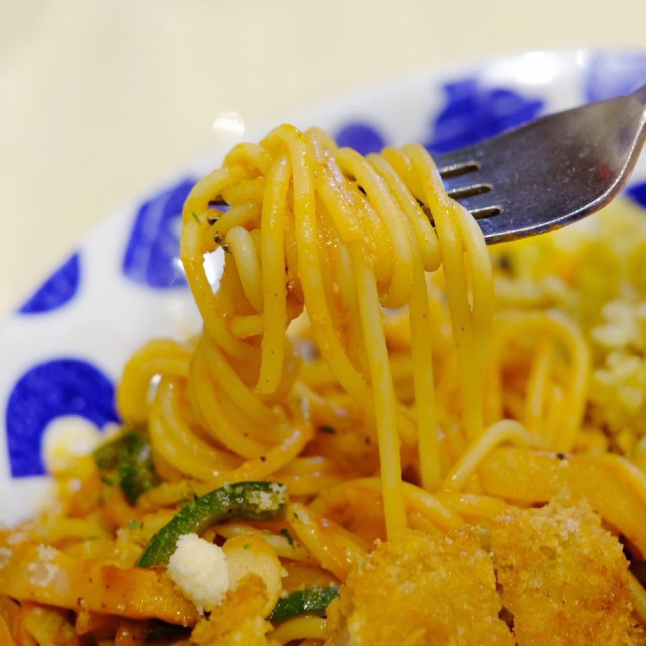 画像: 洋食の代表格ナポリタンは、チーズの香りが高くコクがあります。