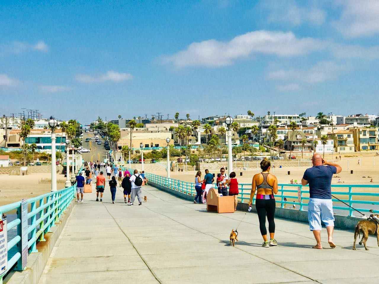 画像1: 現地の人が集まる穴場 Manhattan Beach(マンハッタンビーチ)&Metlox(メトロックス)