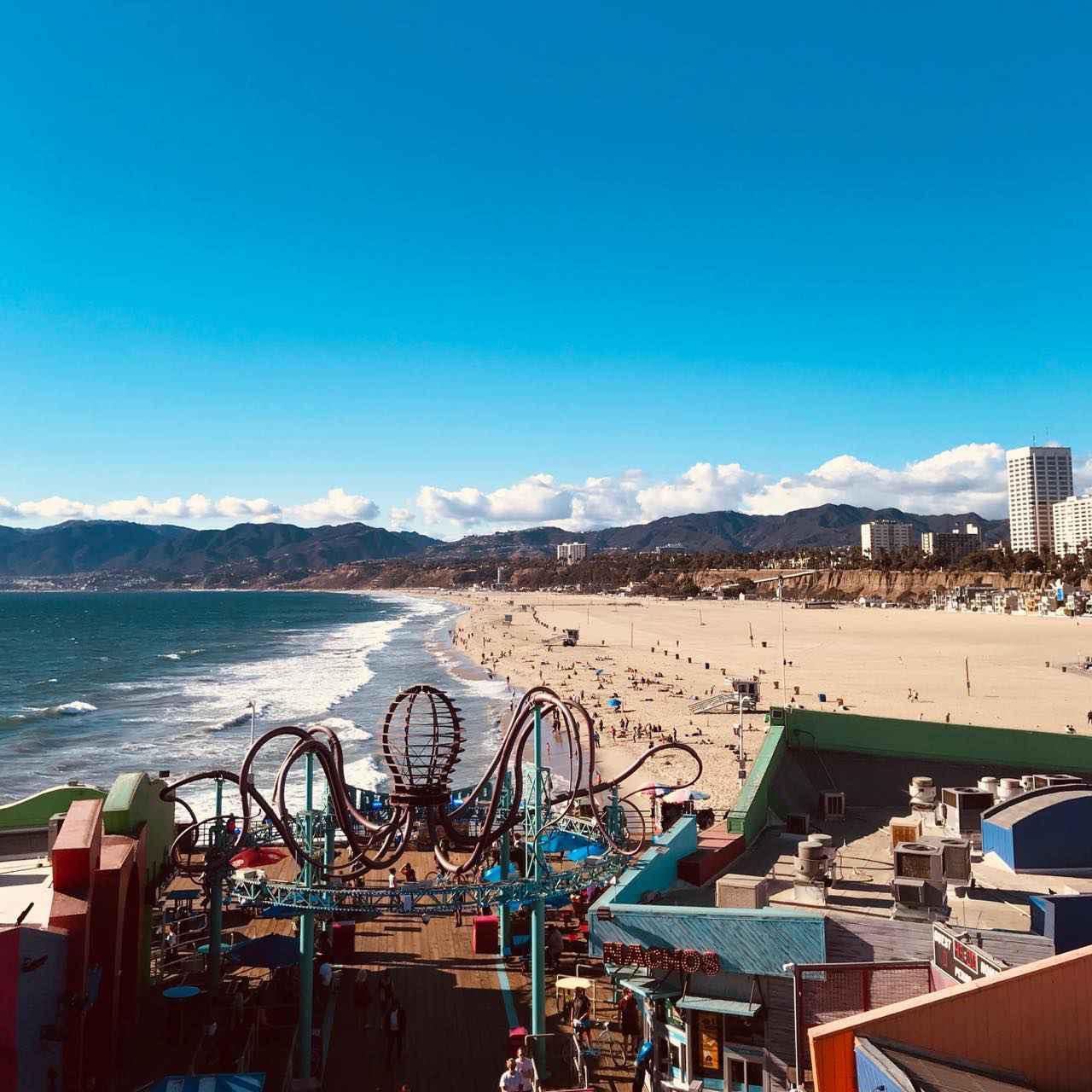 画像1: 観光客に人気。ロサンゼルスで最もメジャーなビーチタウン Santa Monica(サンタモニカ)