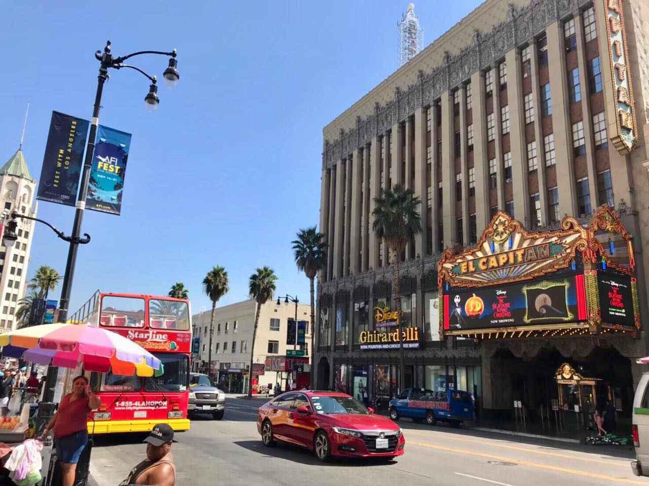 画像1: 映画の聖地 Hollywood(ハリウッド)。ハリウッドサインを見るならHollywood & Highland Centerがおすすめ