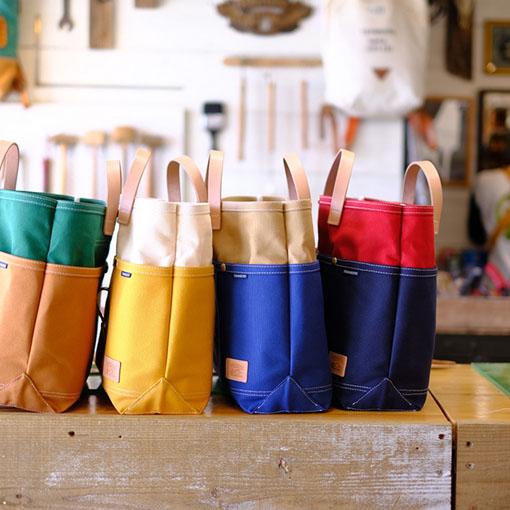 画像: 帆布を使ったバッグ専門店「Teshigoto」へ。