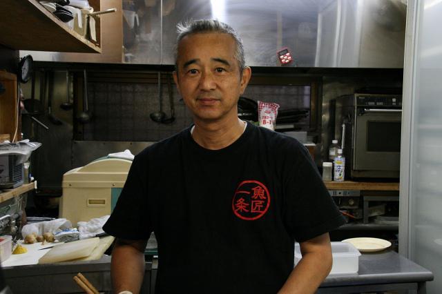 画像: ご主人の徳永正秀さん。料理の腕はもちろん、アットホームな雰囲気も魅力