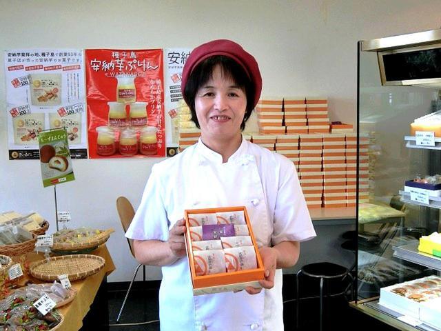 画像: お店は渡辺康生さんと奥様、そしてスタッフたちで切り盛り。多い日は安納芋巴維だけで数千個作るとか