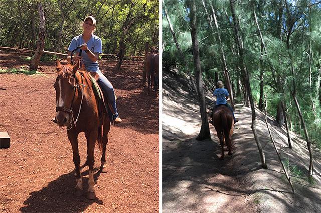 画像3: メインイベントの乗馬ツアー〔HAPPY TRAILS HAWAII〕