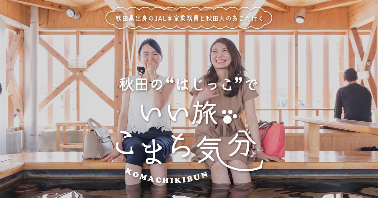画像: 秋田県出身のJAL客室乗務員と秋田犬のあこが行く! いい旅、こまち気分