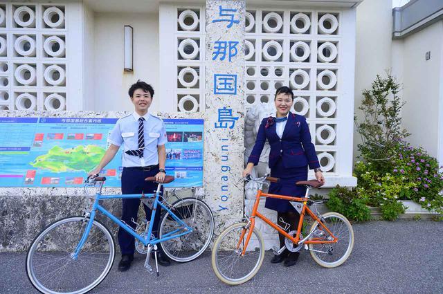 画像: 1.まずは空港で自転車をレンタル!