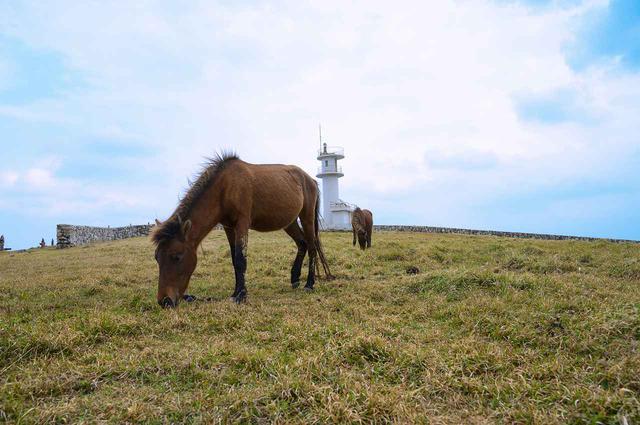 画像: 3.遠くに西表島が望める東崎灯台
