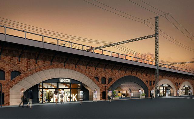 画像1: 【日比谷・有楽町】100年の歴史ある煉瓦アーチ高架橋下が最旬カルチャースポットに「日比谷OKUROJI」
