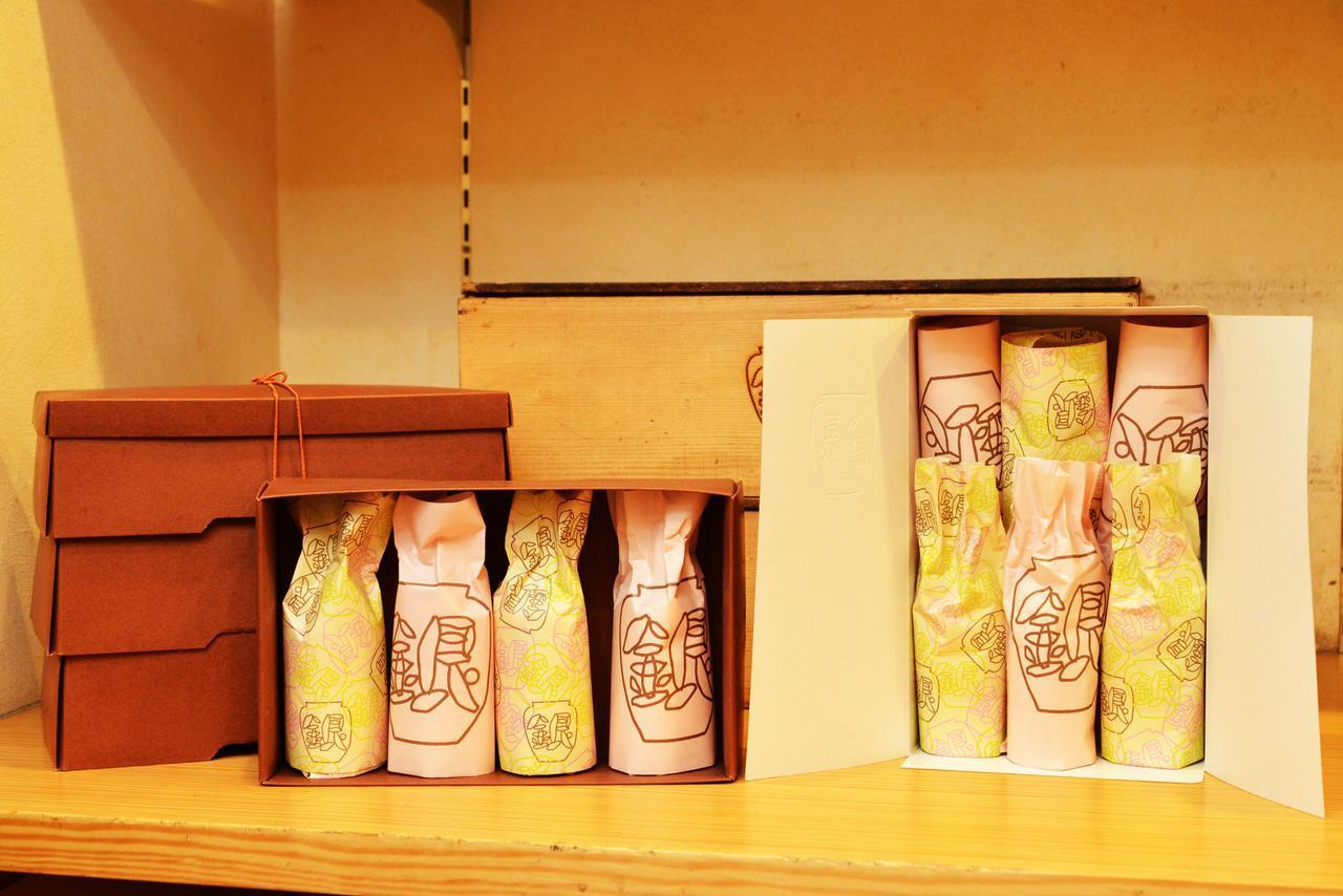 画像: 箱は小が55円、大が110円。お重箱は一段330円で+一段110円