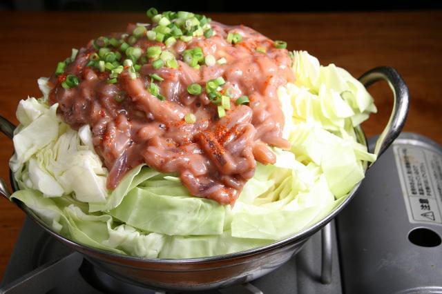 画像: 「塩辛煮」890円 量は多いが野菜もたくさん採れて、温かくて、冬の時期にうってつけ