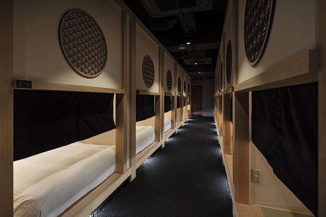 画像: 女性のひとり旅に人気。進化を続ける東京の個性派カプセルホテル