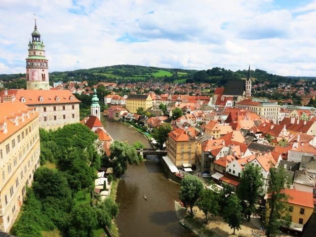 画像2: 【チェスキークルムロフとは】川に囲まれた世界遺産の街