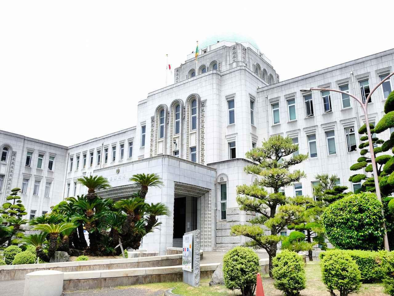 画像: 築90年を迎え、日本の都道府県庁舎では3番目に古い建物です。