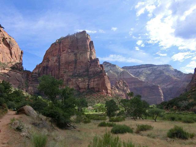 画像: 10.【ザイオン国立公園】天高くそびえる巨岩と、豊かな緑が広がる楽園
