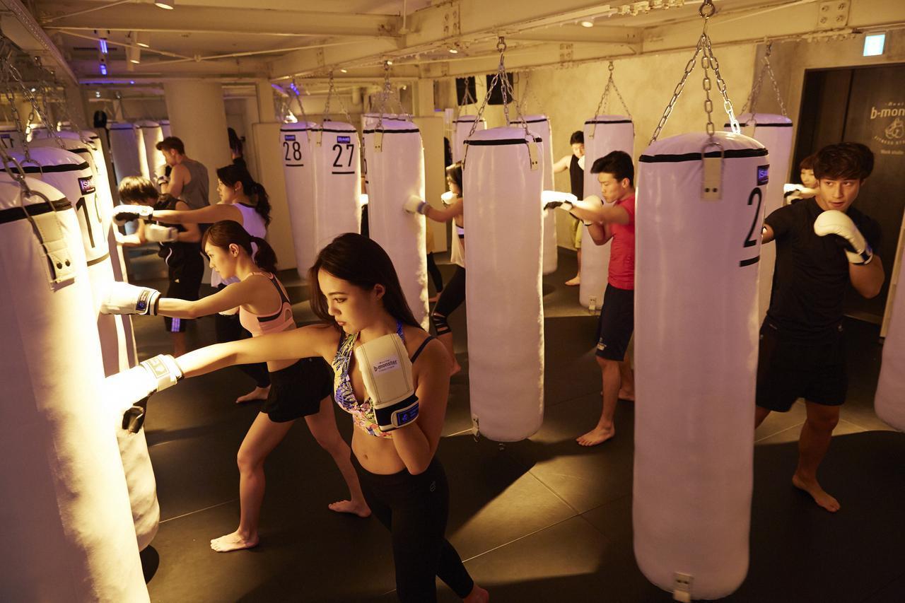 画像: ビギナーもOK。空港職員からも人気の最新ボクシングフィットネス b-monster 羽田空港スタジオ