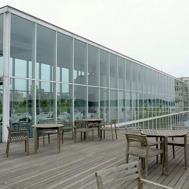 画像: 気ん持ちいい開放的な空間!「まちカフェ」温泉に併設されているカフェです。