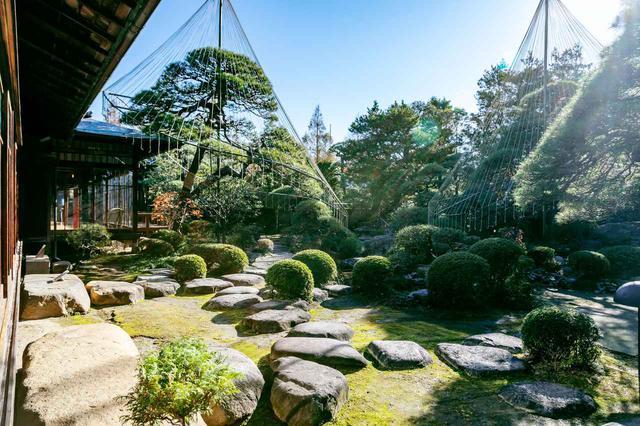 画像4: 世界も認める日本庭園を眺めながら抹茶を嗜む「山本亭」