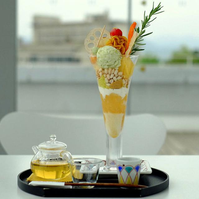 画像: なんと野菜でできたパフェ「加賀パフェ」。<そんなの美味しいの…?>と思うでしょう?これがびっくりするくらいに美味しいんです!!