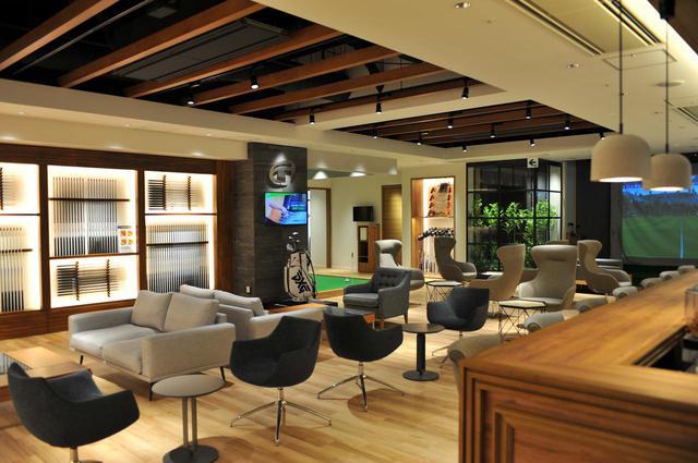 画像1: フライト前にゴルフデビュー。最新設備のスタジオが併設する GDO Golfers LINKS -HANEDA-