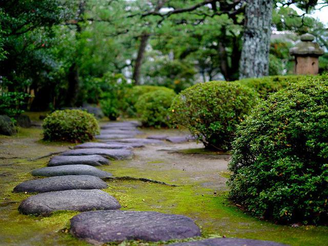 画像: 庭の手入れも行き届いています。