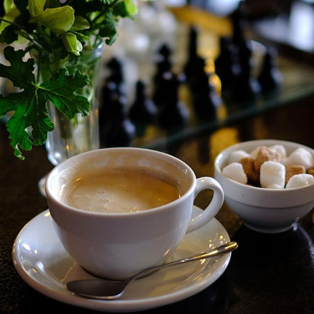 画像: コーヒーもとてもおいしかったです。
