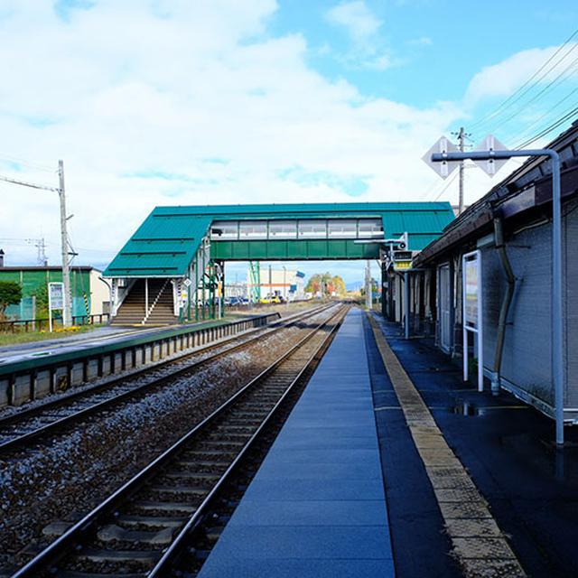 画像: 旭川駅に戻るためJR宗谷本線・永山駅へ。今回はたくさんの電車に乗りました。