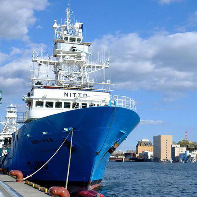 画像: 最後は港方面をぐるっとまわって船見て帰りました~。
