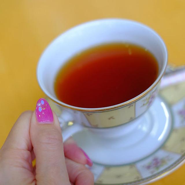 画像: 紅茶は渋味が程よく、おいしかったです。