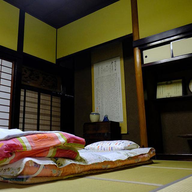 画像: 和室でゆっくり休みました。