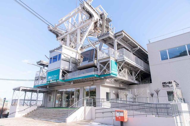 画像1: 2日目はちょっとオシャレな「ベイサイド」プラン。まずは函館山へ