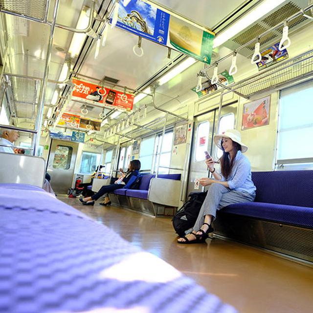 画像: 佐賀・唐津へ向けての電車旅。一本乗り換えなしです。