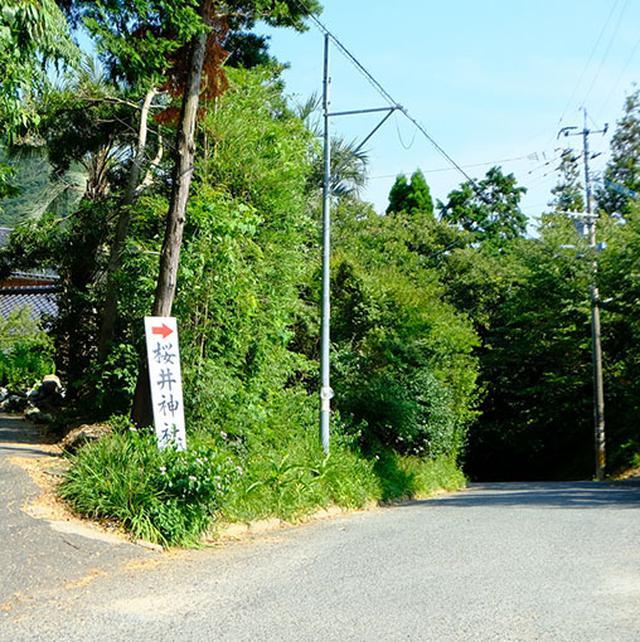 画像: この二見ヶ浦に関連する社「桜井神社」にも立ち寄ることにしました。海から近いのですが少し山に入るため、坂道がキツかったです…。