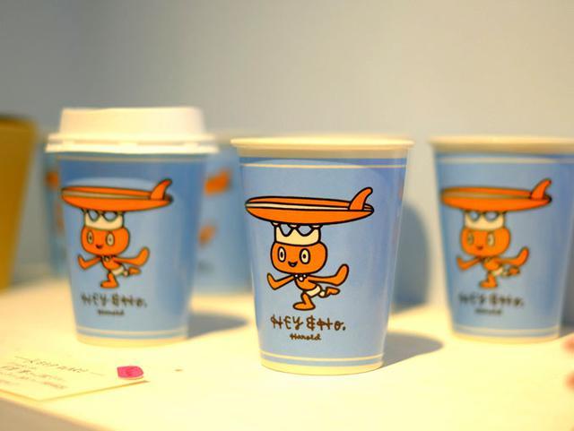 画像: イラストレーター安齋肇氏が描いたカップは「HEY&HO」オリジナル。ほしい…。