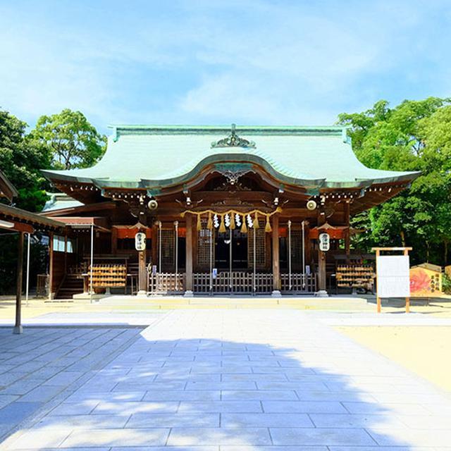 画像: ひっそりした神社ですが、とてもきれいに整備されていて大事にされていることがわかる。