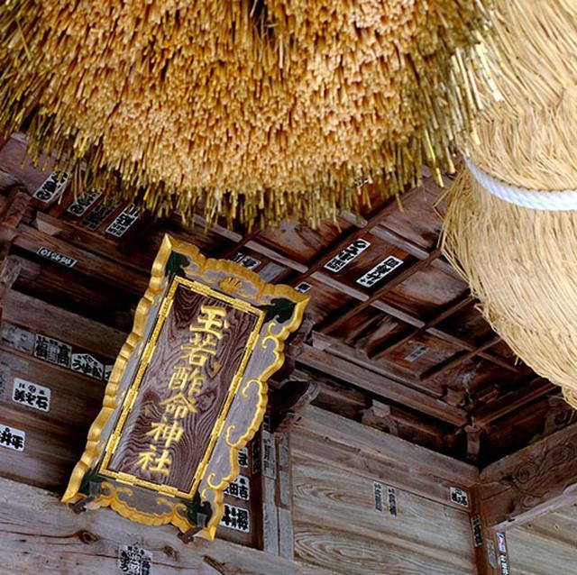画像: 玉若酢命神社は隠岐国の総社。ここをお参りすれば隠岐の全ての神様に詣でたことになると言われています。見ごたえのある神社でした。