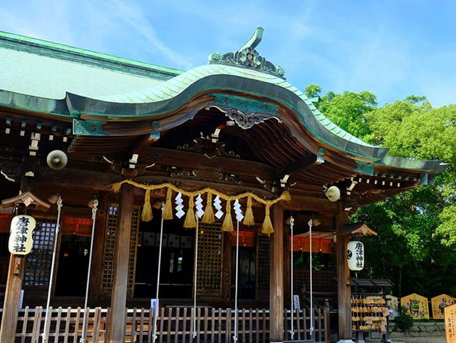 画像: 「旧高取邸」から歩いてやってきたのは「唐津神社」。