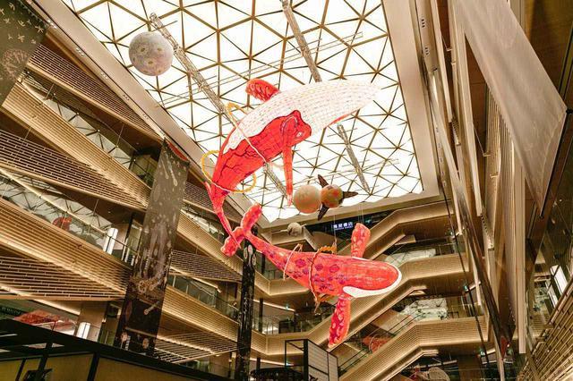 画像: 「Celebration of Life -星の海の祝祭-」(中央吹き抜けアートのみ 2020年2月下旬まで展示) (c) 2019 KLAUS HAAPANIEMI All Rights Reserved.ライツマネージメント:株式会社ブルーフォリオ