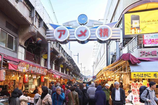 画像: 【上野でお散歩2】活気を感じるアメ横コース