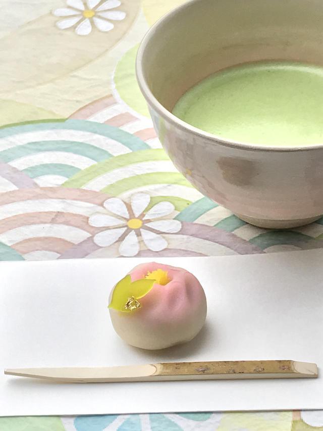 画像1: 「旧岩崎邸庭園 御茶席」にて重要文化財の中で一服