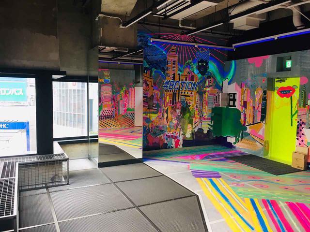 画像: 自由にラクガキが楽しめる展望台「ASIATO(アシアト)」