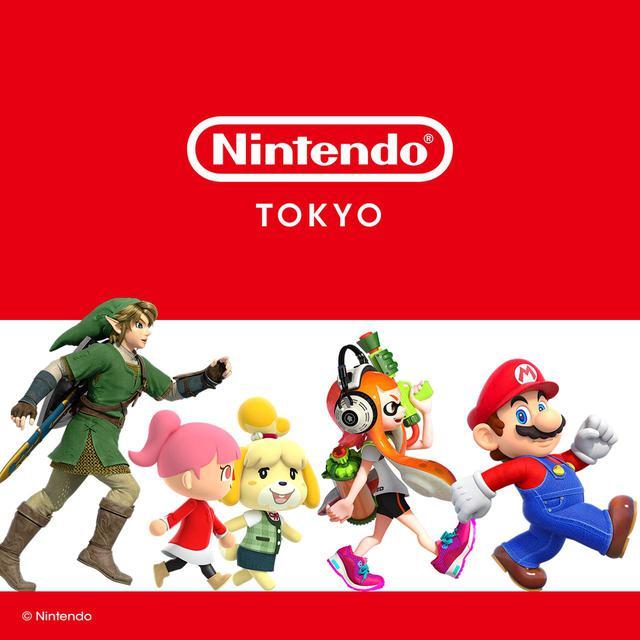 画像: 「Nintendo TOKYO」人気シリーズのグッズが勢ぞろい