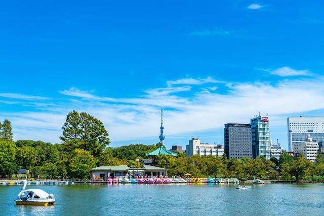 画像: D-1「上野恩賜公園」は桜の名所。銅像巡りも楽しめる